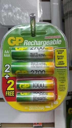 Baterías Gp Recargables