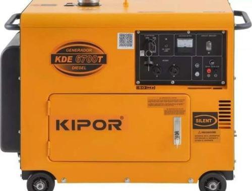 Generador Planta Electrica Kipor 6700 Watts + Ats Nueva