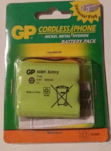 Gp Nimh T160 Batería Teléfono Inalámbrico 3.6v 600mah