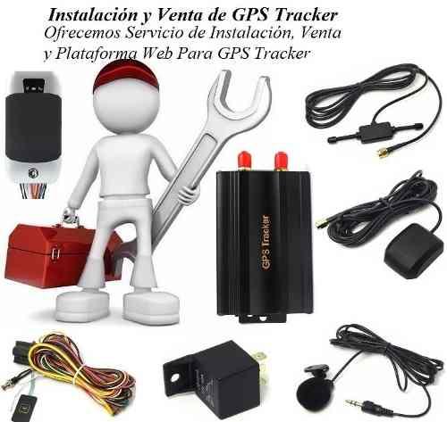 Instalación Y Servicio De Gps Tracker.