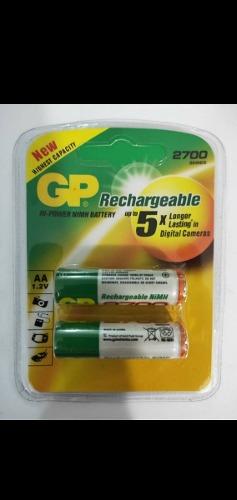Pilas Baterías Gp Recargables Triple Aaa  Nimh