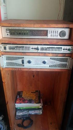 Vendo Equipo De Sonido Completo Remato Como En La Foto
