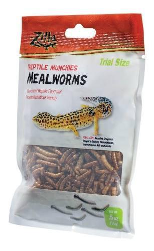 Alimento Para Geckos Dragones Camaleones Zilla 14 Gr