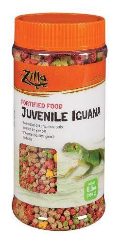 Alimento Para Iguanas Juveniles Zilla 184 Grs