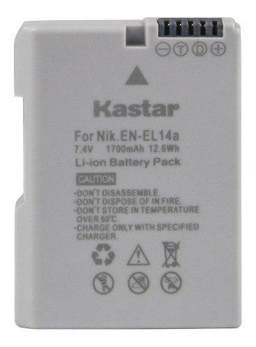 Batería Recargable En-el14 Kastar Para Nikon