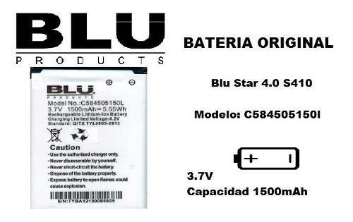 Bateria Pila Blu Star 4.0 Modelo: C584505150l Nueva Original