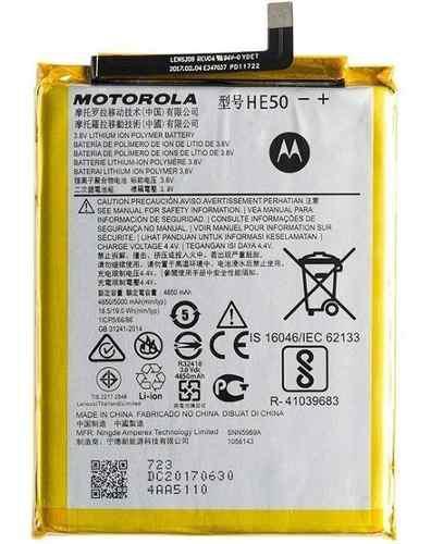 Bateria Pila Motorola Moto E5 Plus Xt1770 Xt1772 Xt1773 He50