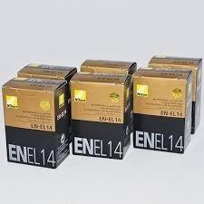 Baterias Nikon En-el14...pack Original