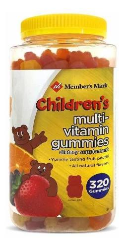 Enciclopedia Membersmark Vitamina/multivitaminico 320gomitas