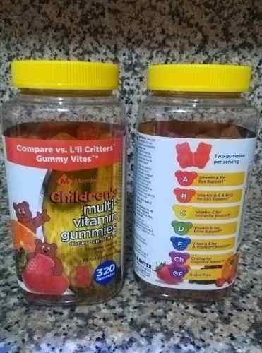 Enciclopedia Multivitaminico Gummies Childrens 320 Gomitas