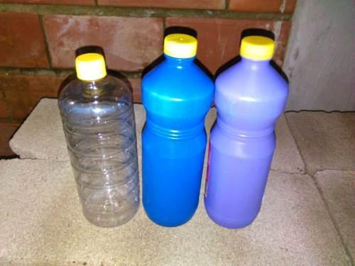 Envases Plasticos 1 Litro (Pack De 4 Unidades)