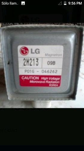 Magnetron Microondas Marca Lg Mod 2m213 Compatible 24fa-410a