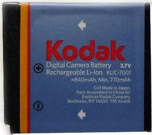 Pila Bateria  Kodak Recargable Usada 100% Operativa