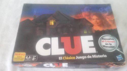 Clue El Clásico Juego De Mesa, Descubre Al Culpable!