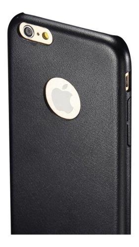 Forro Delgado Cuero Sintético iPhone 6 Plus (cod 33)