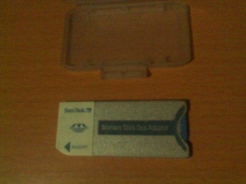 Memory Stick Duo Adaptor De Sandisk 512mb