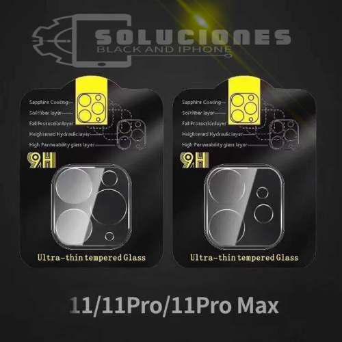 Protector De Camara 3d Vidrio, iPhone 11, 11 Pro 11 Pro Max