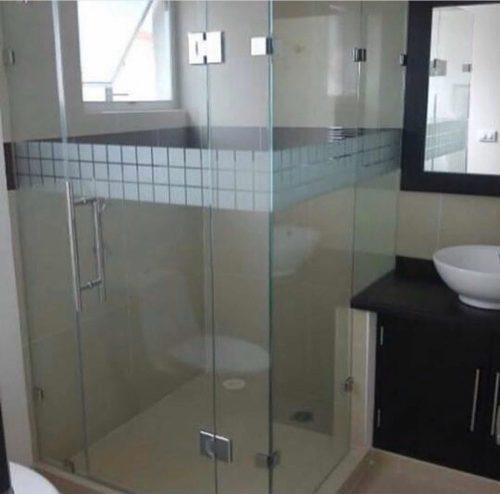 Puertas De Baño (duchas) Vidrio Templado, Corredizas, Fijas