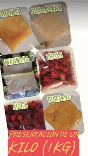 Pulpas De Fruta Fresa Mora Parchita Guanabana Durazno