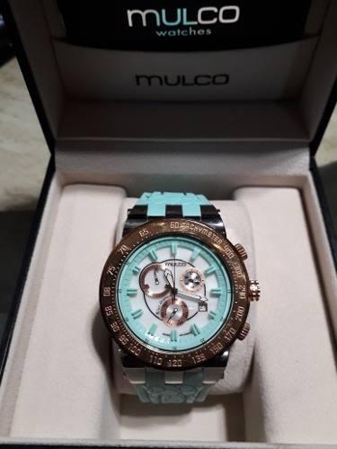 Reloj Mulco Original 100 % Como Nuevo En Su Caja