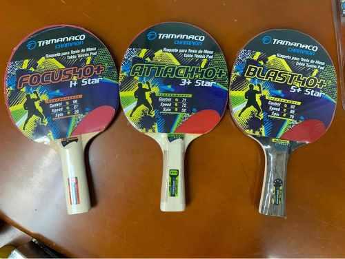 Raquetas De Ping Pong O Tenis De Mesa ¿