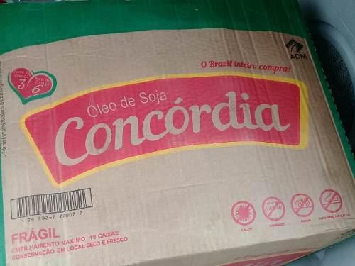 Aceite Comestible De Soya Concordia Ref 30