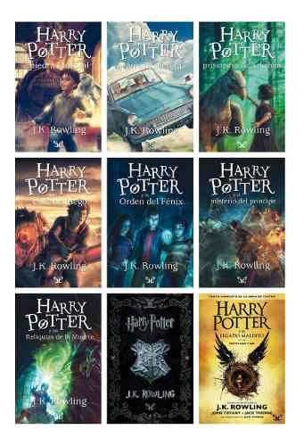 Colección Completa De Harry Potter - 40 Libros