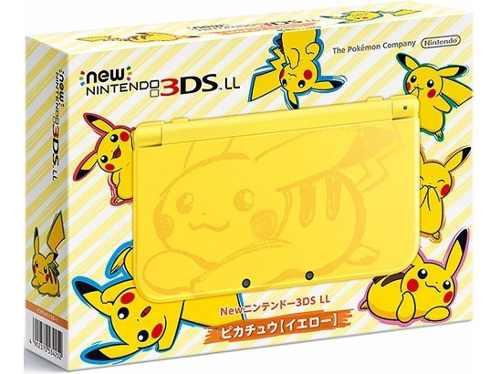 New Nintendo 3ds Xl Ed. Pikachu Yellow + Cargador