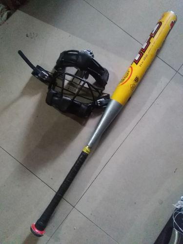 Oofeertaa Bate Softball Catalyst + Careta Ofertazo 50 Vrds