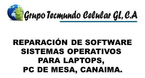 Reparacion De Software, Sistema Operativos Para Pc. Tienda