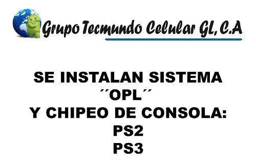 Servicio De Sistema Opl Y Chipeo De Consola Ps2 Ps3. Tienda