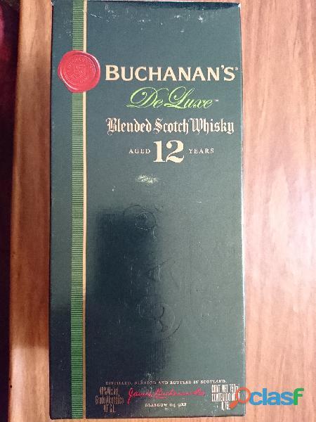 Vendo BUCHANAN´S De Luxe, Blended Scotch Whisky, Aged 12