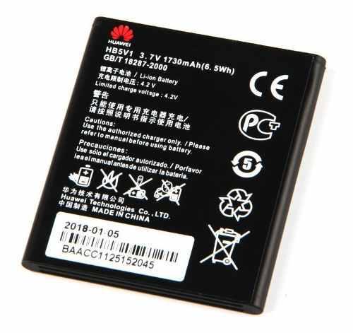 Bateria Pila Huawei Y300 Y500 W1 Y511 G526 Y360 Hb5v1