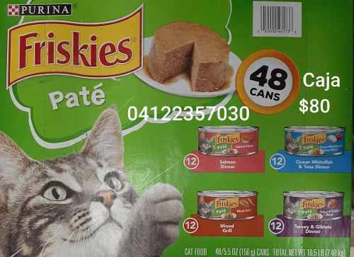 Friskies En Lata Alimento Humedo Para Gatos 156 Gr