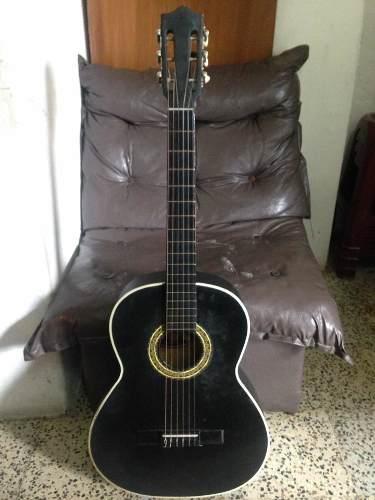 Guitarra Clásica Acústica Negra