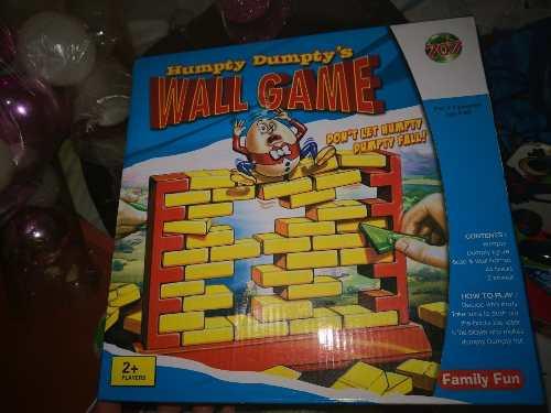 Humpty Dumpty's Wall Game Juego De Mesa