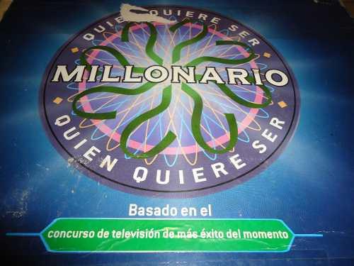 Juego De Mesa Familiar Quien Quiere Ser Millonario. Original