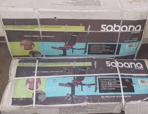 Banco De Pesas Sabana Fb-310 Nuevo En Su Caja!