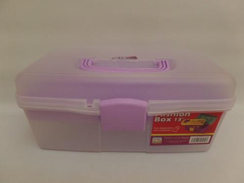 Caja Organizadora Fashion Box 13 Alfa Hogar (6 Unidades)