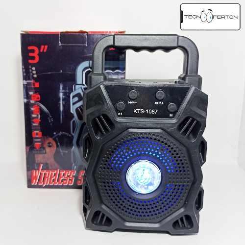 Corneta Inalambrica Bluetooth Radio Pendrive Microsd Calidad