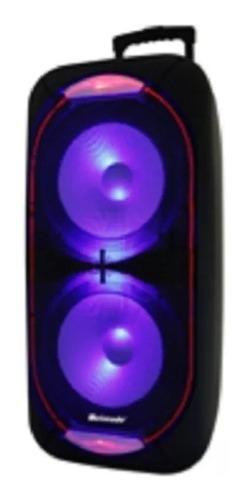 Corneta Portátil Bluetooth 12 Pulgadas Meirende Led