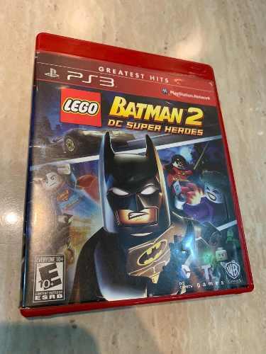Lego Batman 2 Dc Super Heroes Ps3 Juego Fisico