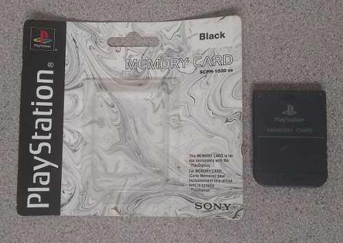 Memory Card Playstation 1 Original Made In Japan Usada