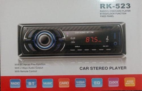 Reproductor De Carro Bluetooth Usb Aux Sd (25v.) Oferta