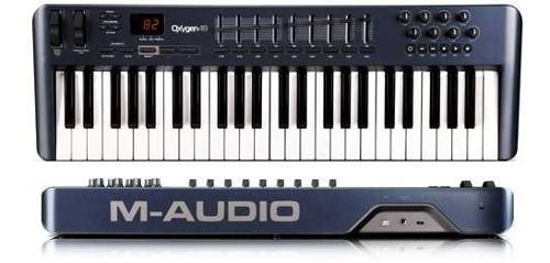 Teclado Controlador Midi Usb M-audio Oxigen 49 Impecable