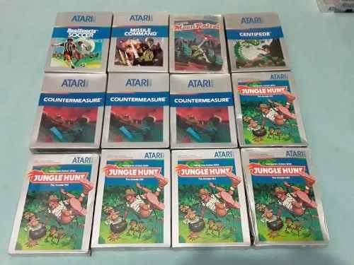 Atari 5200, Lote De 33 Juegos Nuevos Y Sellados.