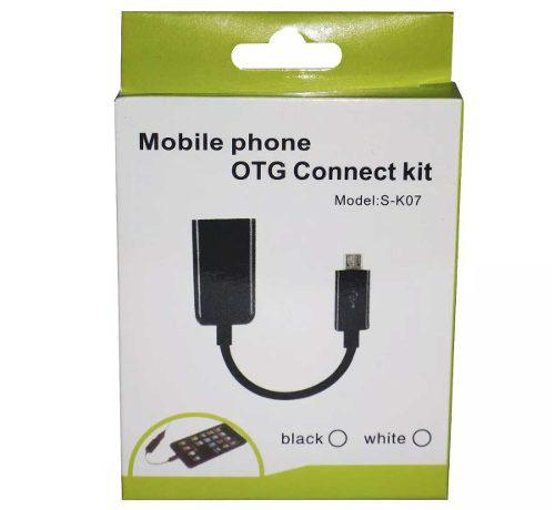 Cable Otg Usb Hembra A Micro Usb Tablet