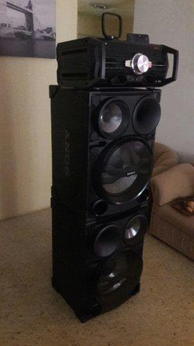 Equipo De Sonido Sony 22.000 Watts De Potencia....350verdes