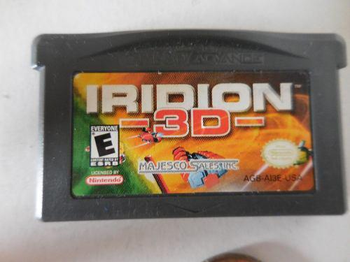 Juego De Game Boy Advance Iridion 3 D Pregunte Precio