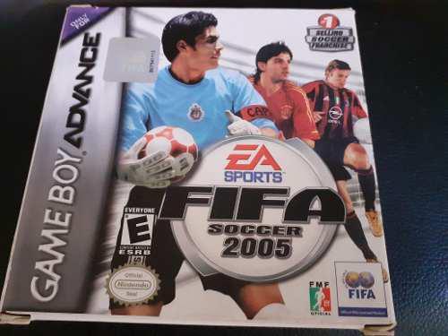 Juego Fifa Soccer 2005 Para Game Boy Advance Original